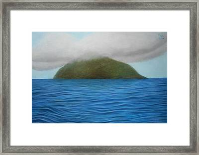 Hope- The Island  Framed Print by Vishvesh Tadsare