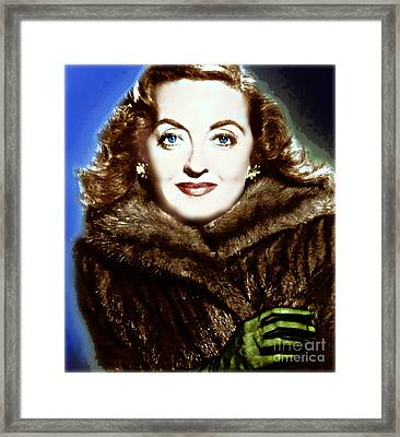 A Real Dame Framed Print by Wbk