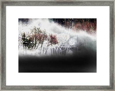Framed Print featuring the photograph A Recurring Dream by Steven Huszar