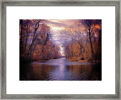 A Reelfoot Bayou Framed Print