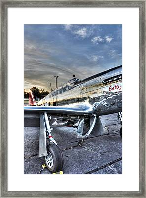 A Reflective Mustang Framed Print by David Collins