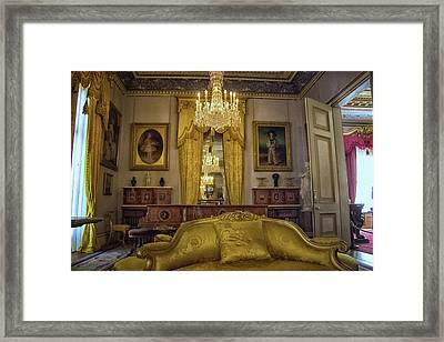 A Regal Room Framed Print by Martin Newman