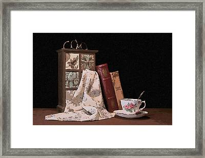 A Relaxing Evening Framed Print
