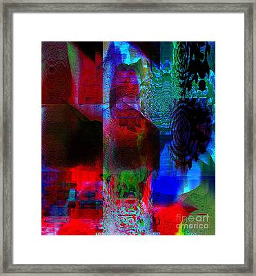 A Representation Of Nothing Framed Print by Fania Simon