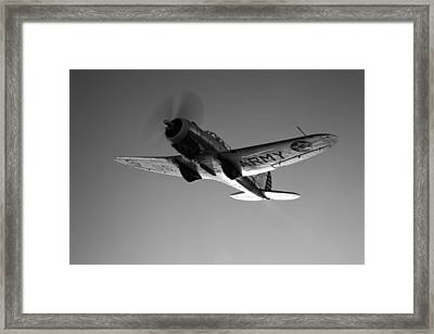 A Republic At-12 Guardsman Aircraft Framed Print