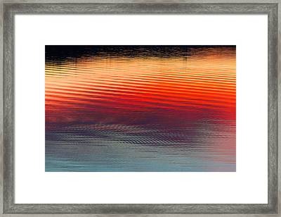 A Resplendent Reflection Framed Print by Jan Davies