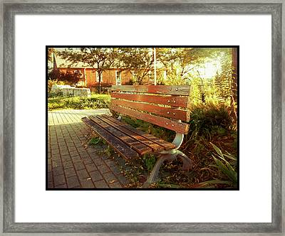 Framed Print featuring the photograph A Restful Respite by Shawn Dall