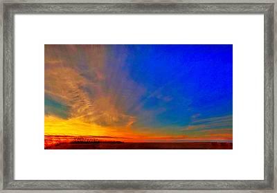 A Return To The Menno Lands #2 Framed Print by JB Groves Godfrey