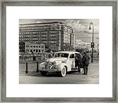 A Ride With The Mob Framed Print by Michael Avory
