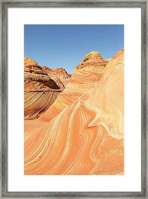 A Ripple In The Wave Framed Print