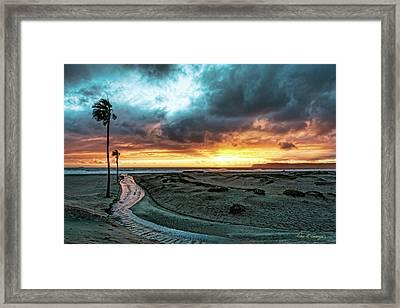 A River Runs Through Framed Print
