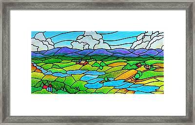 A River Runs Through It Framed Print by Jim Harris