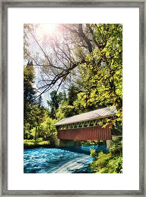 A River Runs Through It Framed Print by Joel Witmeyer