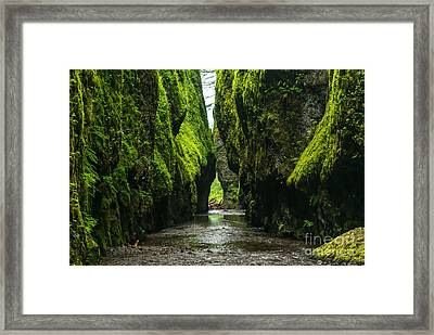 A River Runs Through It Framed Print by Rod Jellison