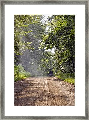 A Road Less Traveled  Framed Print by SharaLee Art