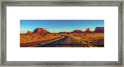 A Road Less Travelled Framed Print by Az Jackson