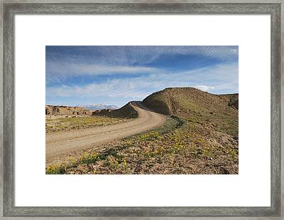 A Road To Nowhere Framed Print by Gregory Ballos