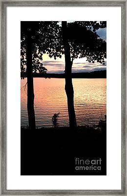 A Romantic Point Of View Framed Print by Scott D Van Osdol