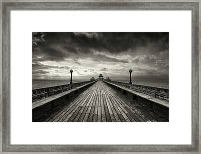 A Romantic Walk To The Past Framed Print