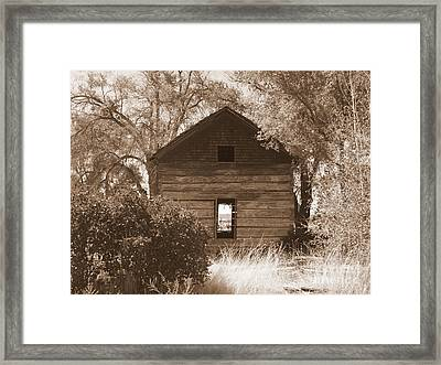 A Room With A View Framed Print by Carol Groenen