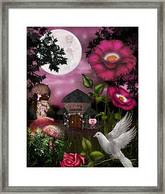 A Rose For You Framed Print by Morning Dew