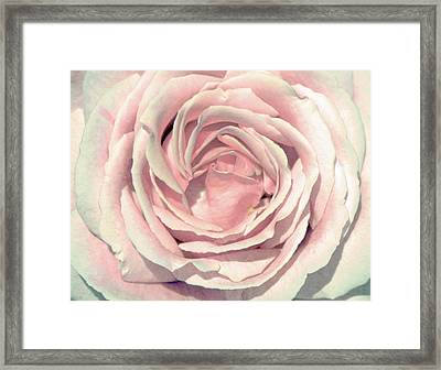 Framed Print featuring the digital art A Rose Is A Rose by Margaret Hormann Bfa