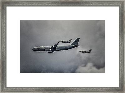 A Royal Escort Framed Print