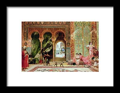 Harem Framed Prints