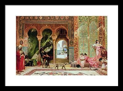 Morocco Framed Prints