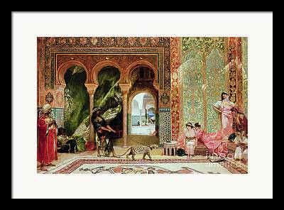 Harem Framed Prints