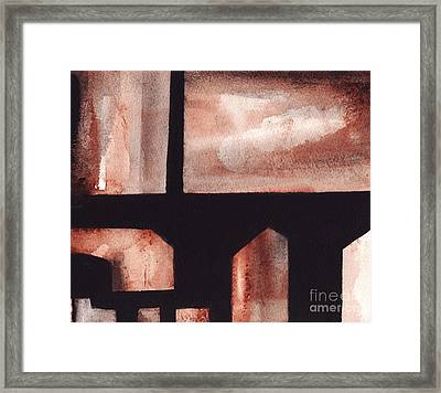 A Rt.80 Abstract Framed Print