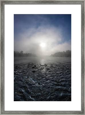 A Rushing River Framed Print