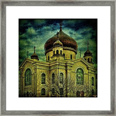 A Russian In Brooklyn Framed Print by Chris Lord