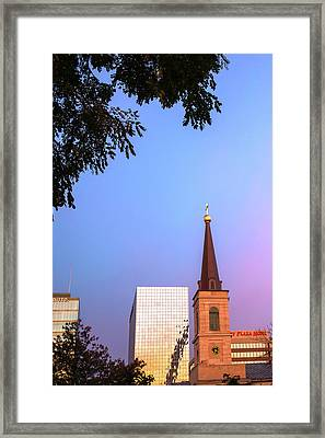 A Saint Louis Morning Framed Print by Gregory Ballos