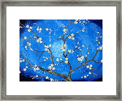 A Salute To Van Gogh Framed Print by Cathy Jacobs