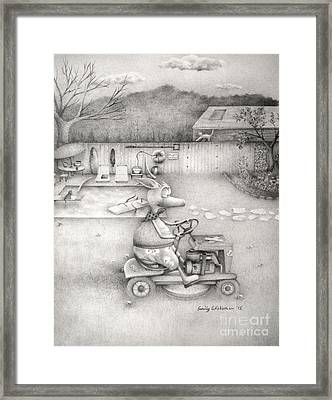 A Saturday Afternoon Framed Print
