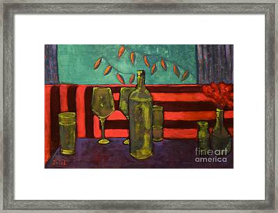 A Sausalito Mood Framed Print by EricA Art