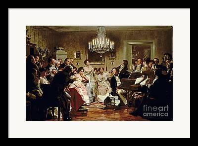 Schubert Framed Prints