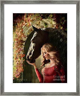 A Secret Passage Framed Print