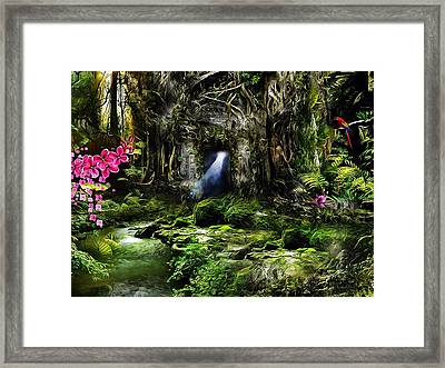 A Secret Place Framed Print