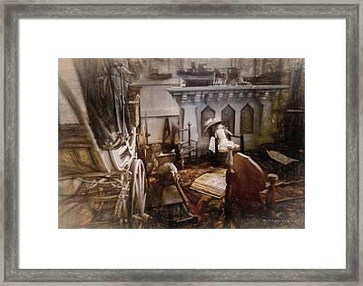 A Secret Room  Framed Print by Robert Meyerson