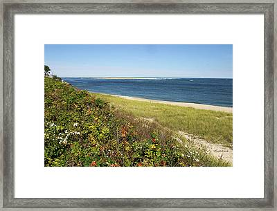 A September Afternoon Chatham Cape Cod Massachusetts Framed Print by Michelle Wiarda
