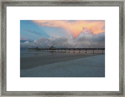 Framed Print featuring the photograph A Serene Morning by Kim Hojnacki