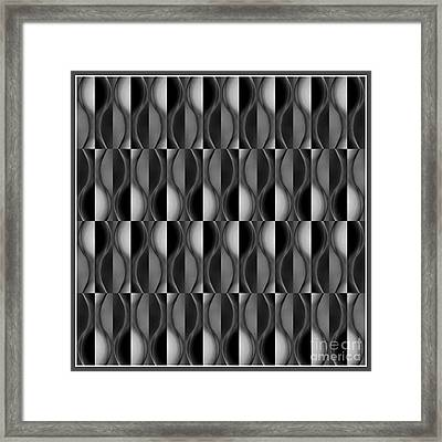 A Seven Framed Print by Jack Dillhunt