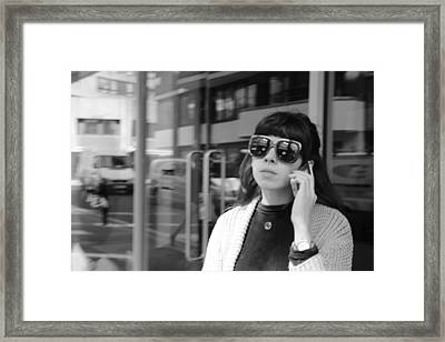 A Shade Of Difference Framed Print