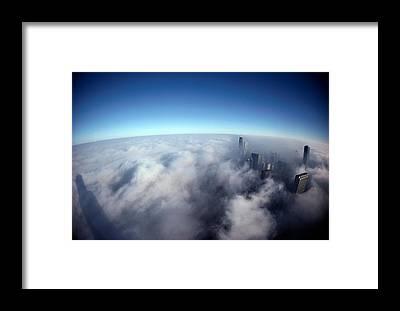 Chicago Skyline Framed Prints