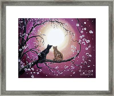 A Shared Moment Framed Print by Laura Iverson