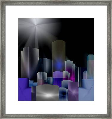 A Shining Light Framed Print