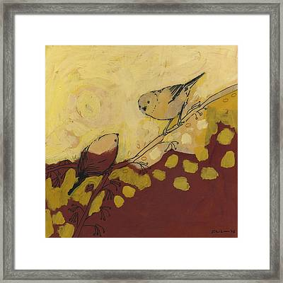 A Short Pause Framed Print by Jennifer Lommers