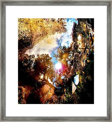 A Show Of The Way Framed Print by SeVen Sumet
